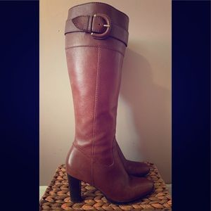 Banana Republic Leather Heeled Boot